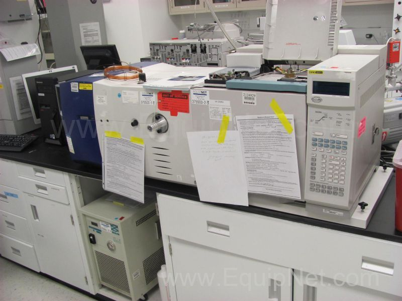 Micromass GCT with Agilent 6890 GC System with Fid Detector and Neslab Refrigerated Recirculator