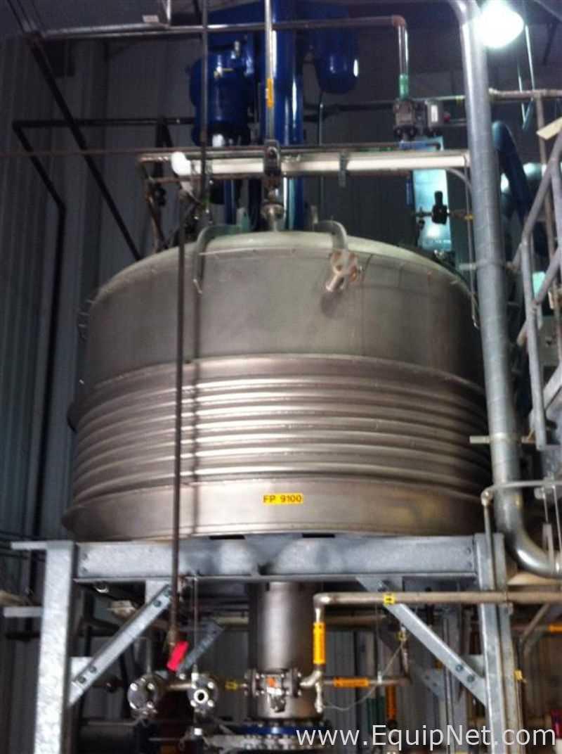 Secador de filtro agitado de acero inoxidable Rosenmund 6m2 316L