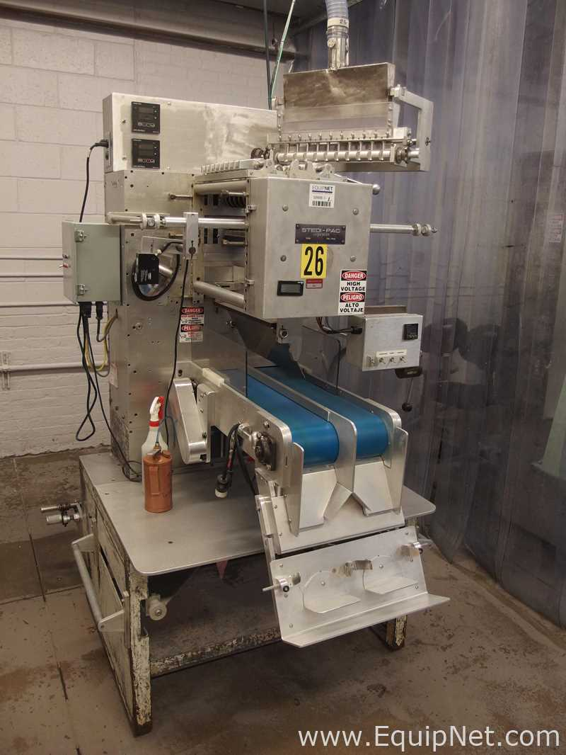 Stedi Pac A-010 Vertical Form Fill Seal Machine for Powders – Machine 23