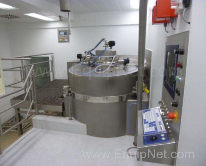 Granulador mezclador de alto cizallamiento Gea Aeromatic Fielder GP1200SP no utilizado