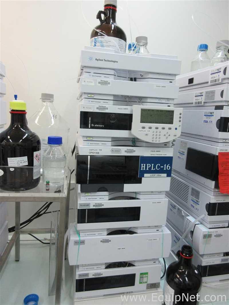 HPLC Agilent 1200 com detector VWD