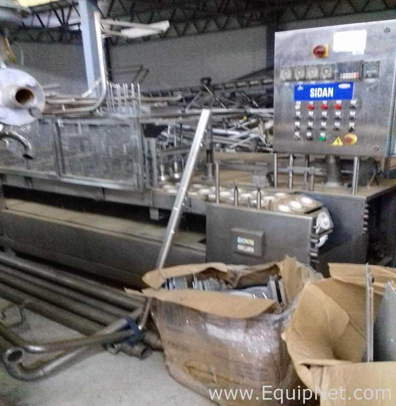 Sidan-Eisbecher-Füllmaschine