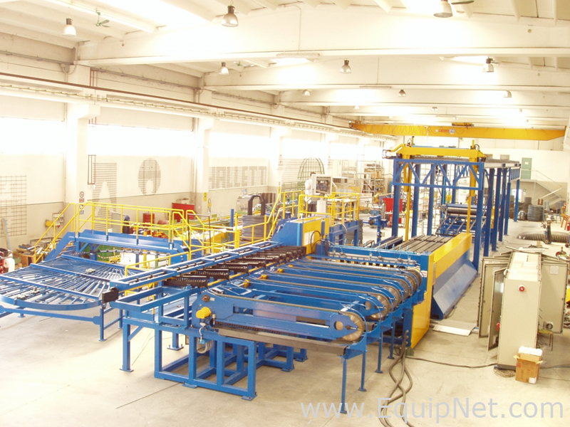 Semi Automatic Mesh Welding Line