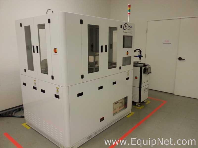 PSM Inc. Limpiador de plasma a presión atmosférica NPT-304-250S con enfriador DCS y Brower de una sola etapa