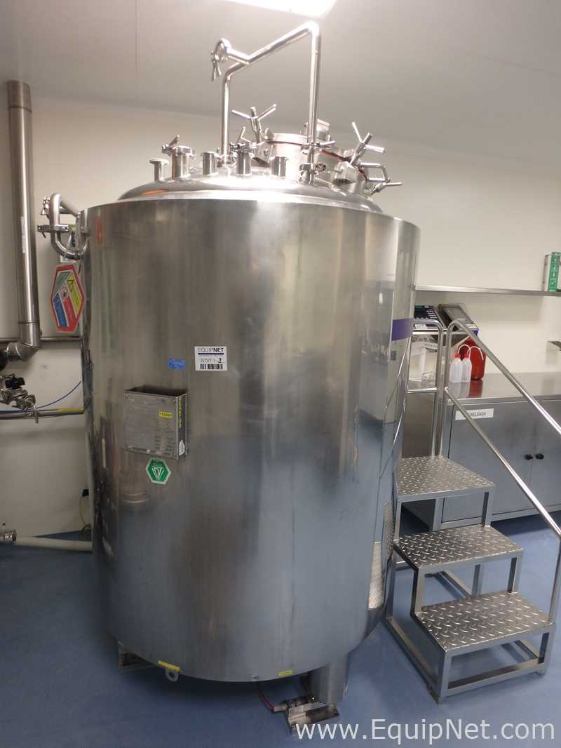 Hen-Mar 800 Liter Jacketed Mix Tank on Loadcells – Building A
