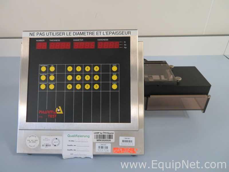 Probador de dureza de tabletas Pharmatest PTB-311E