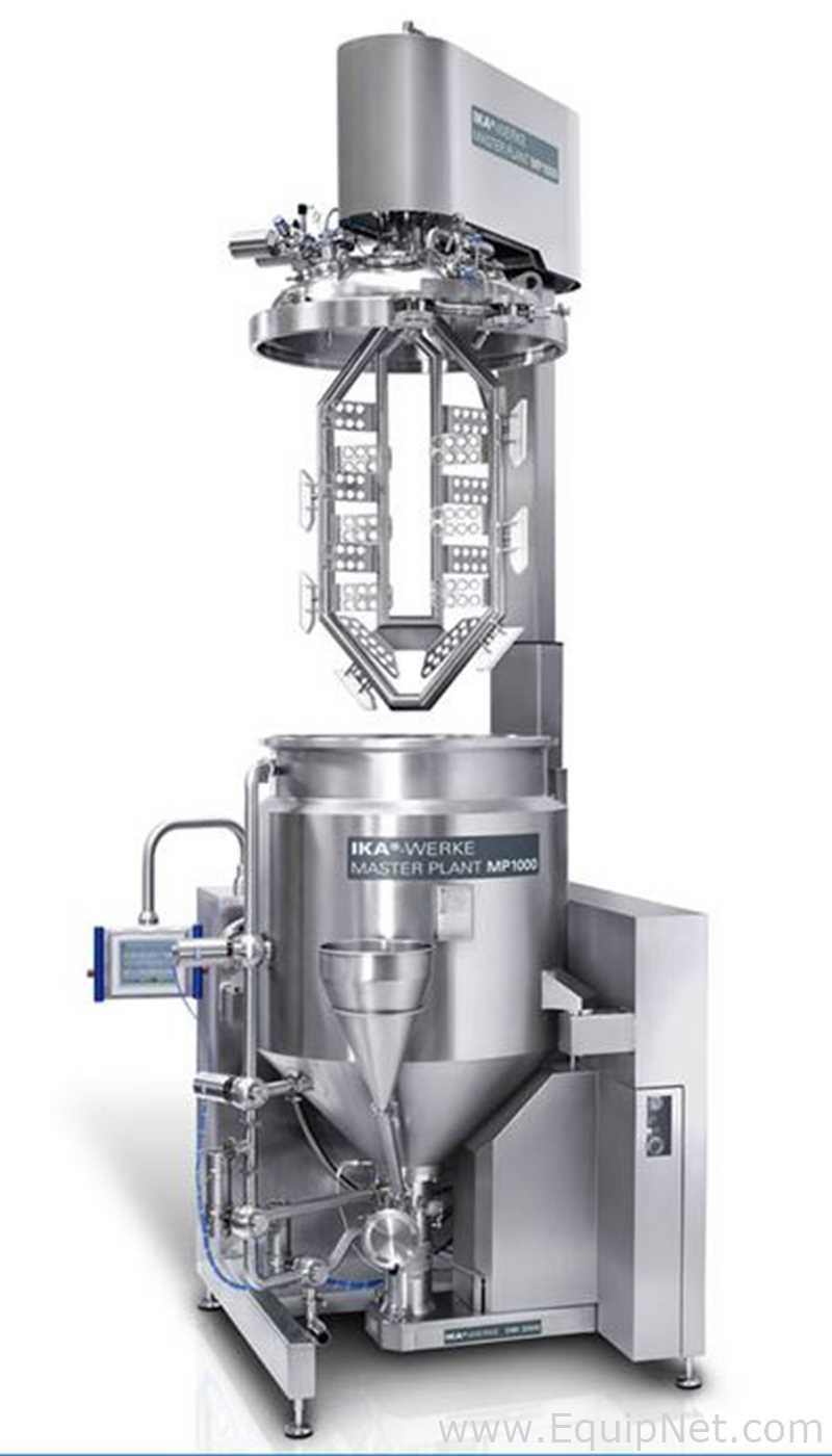 Mezclador de vacío emulsionante IKA Master Plant MP 100