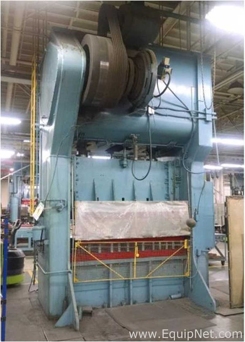 Verson Allsteel 250 ton 52×84 Straight Side Stamping Press
