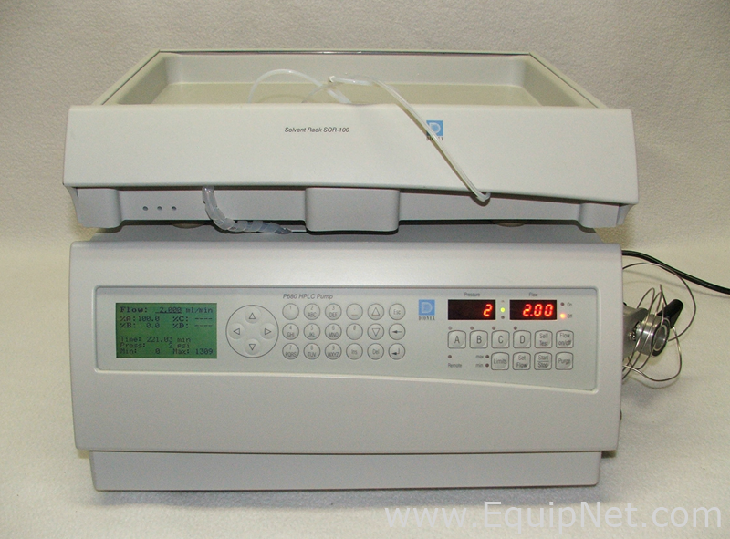 Dionex P 680A HPG and SOR-100A-2 HPLC Components