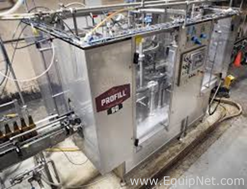 ProBrew 2015 ProBrew 50 Abfüller und Etikettierer, ProFill, 2500 Flaschen pro Stunde Bottle Fill Station