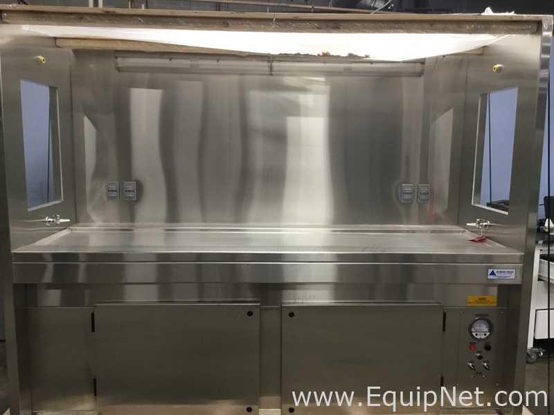 Atmos Tech Industries Stainless Steel Laminar Flow Hood