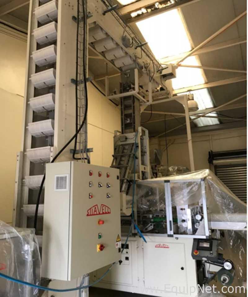 Unused Pavan Stiavelli CPL85 Automatic Intermittent Motion Horizontal Form Fill Seal Machine