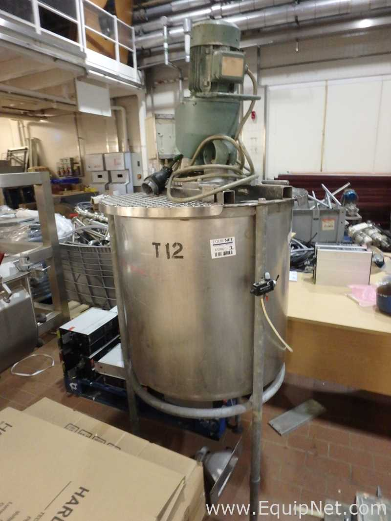 230 Liter Single Wall Stainless Steel Mixing Tank