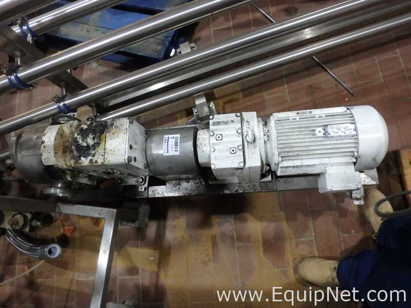 Wright Flow Technologies 1300 Positive Displacement Pump – Lobe Pump