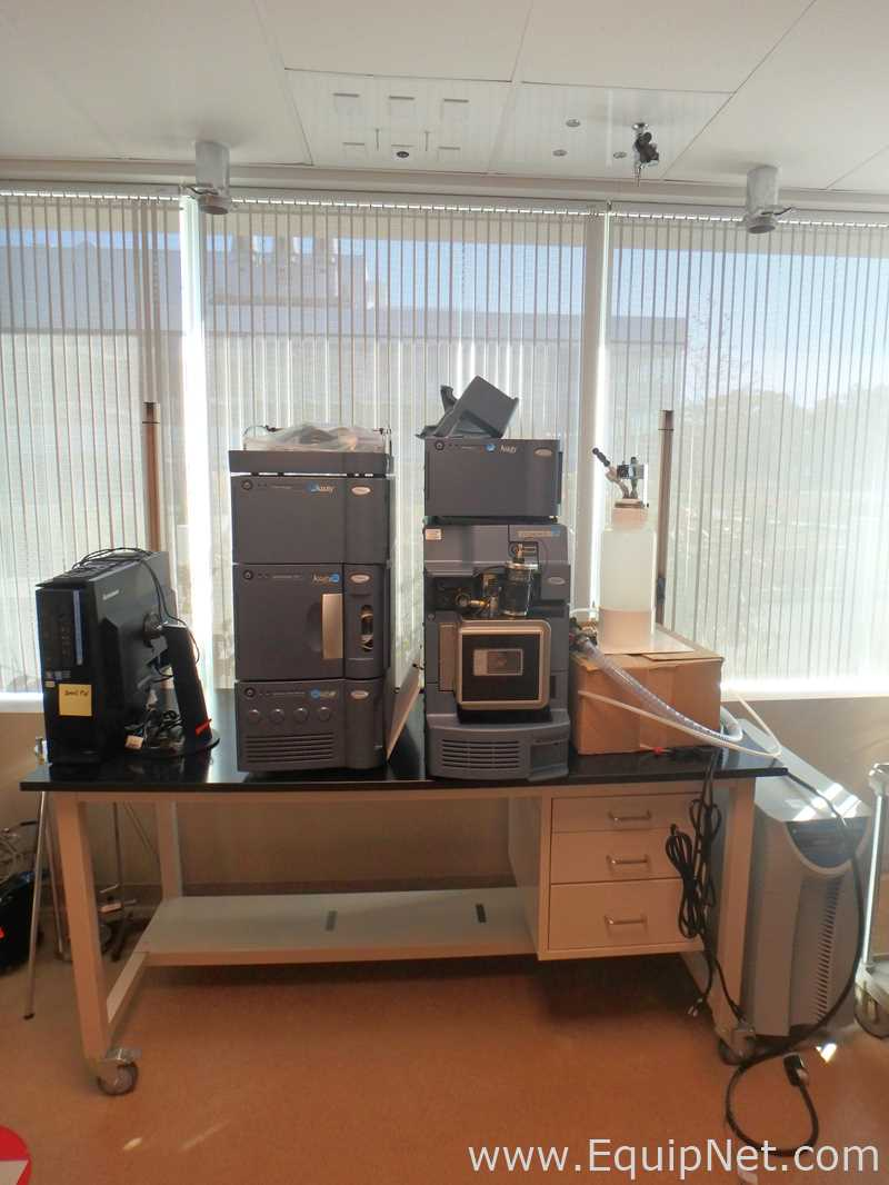 Waters Acquity H-Class UPLC with SQ Detector 2 Mass Spectrometer