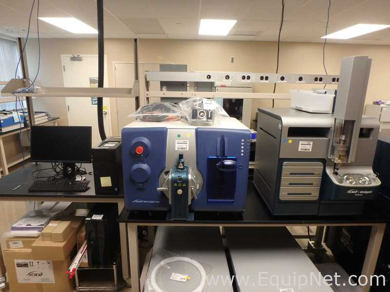 AB Sciex Triple Quad 5500 Mass Spectrometer With Eksigent M5 Micro LC