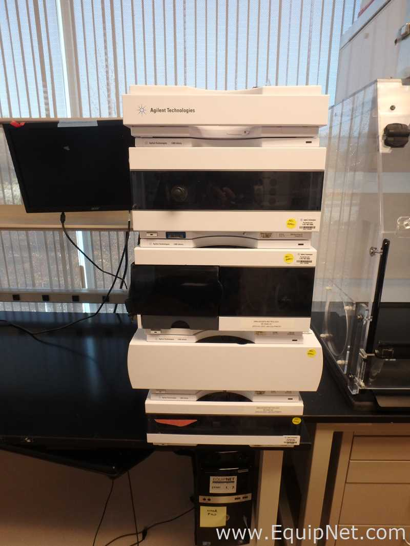 Agilent Technologies 1260 Infinity HPLC System with Quat Pump and VWD Detector