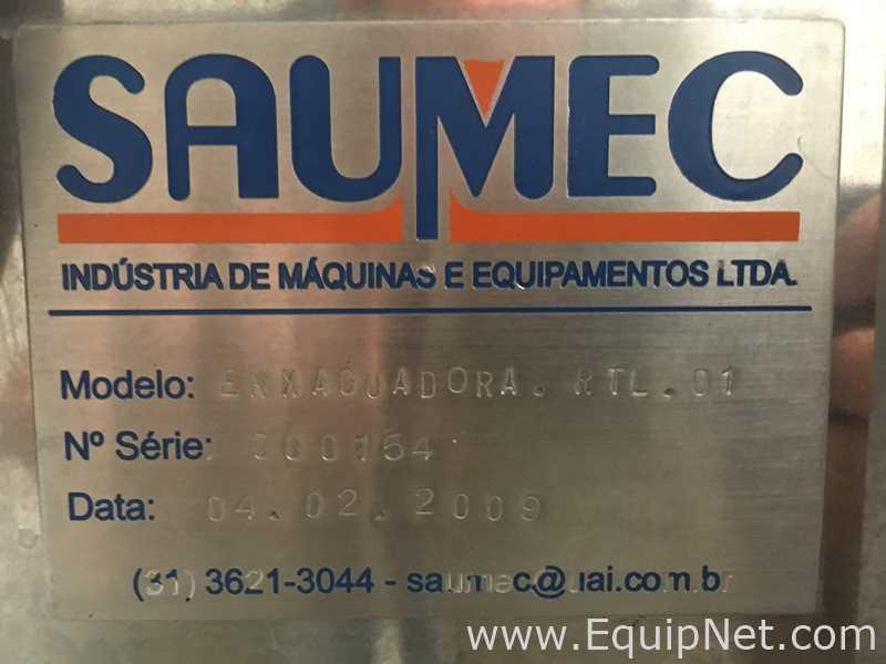 Saumec Complete Line zur Abfüllung kohlensäurehaltiger Flüssigkeiten