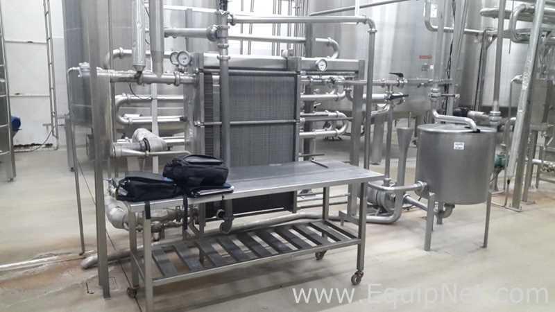 Pasteurisierungssystem Dantherm S38RKCN3