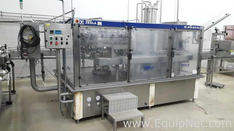 Línea de llenado de líquido carbonatado Zegla para 269ml y 350ml puede formatear
