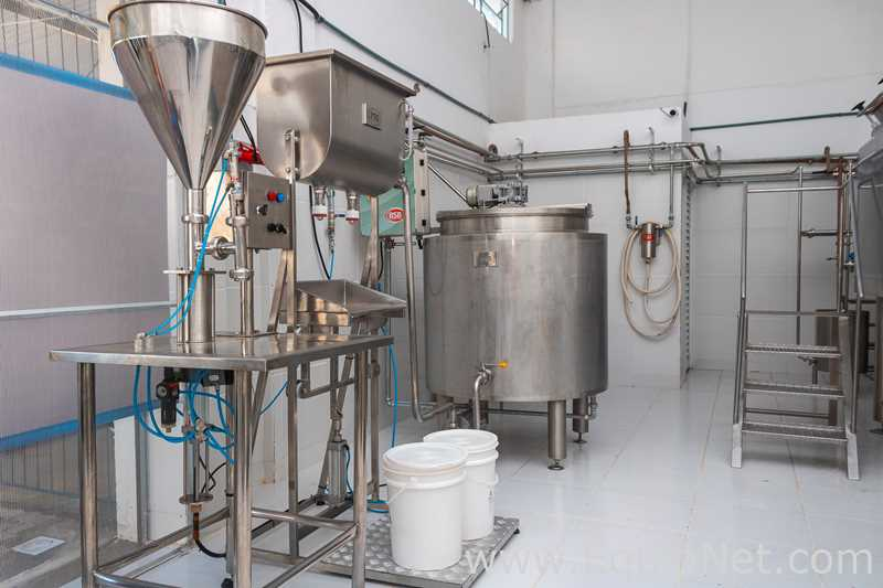 BSB Stainless Steel Cheese and Yoghurt 6000 Liter Processing Line