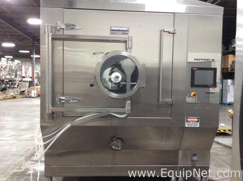 OHara FCM48 Fast Coat Coating Pan With Preheat Module Dehumidification Unit