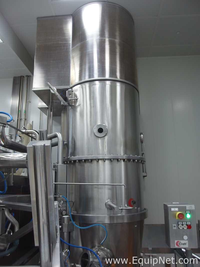 Glatt GPCG PRO-120 Top Loaded - Secador de lecho fluidizado de descarga inferior - Equipo OHC Cat 5