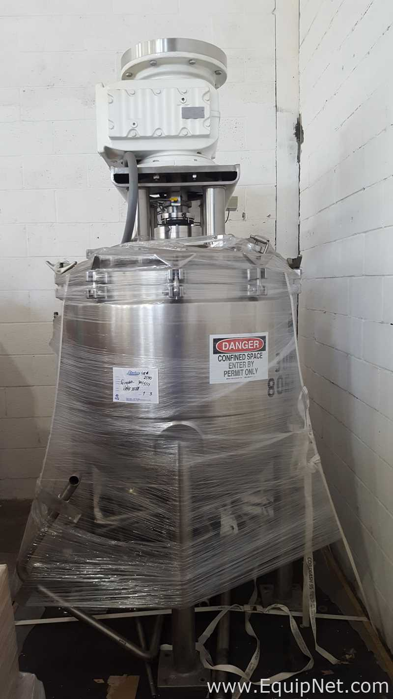 Lee Industries, Inc. 80 Gallon D12T Stainless Steel Tri Mix Kettle 3088