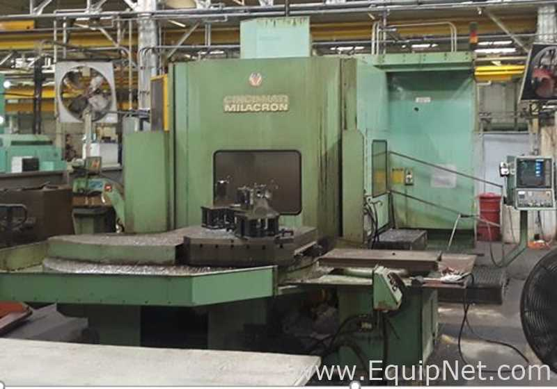 Cincinnati Milacron T-40 4-Axis Horizontal Machining Center