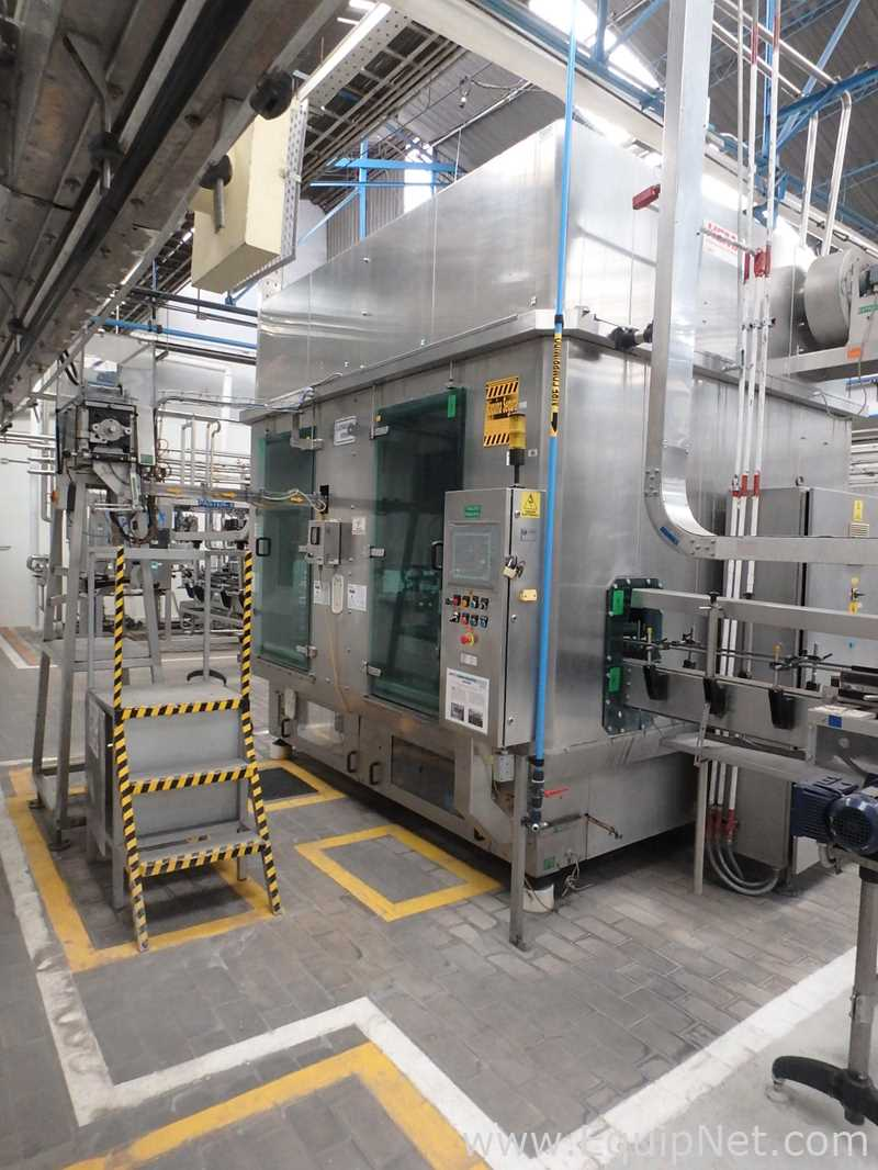 Máquina de enchimento e selagem rotativa Hema MRH 12 | 24 T6 para garrafas cheias de líquido