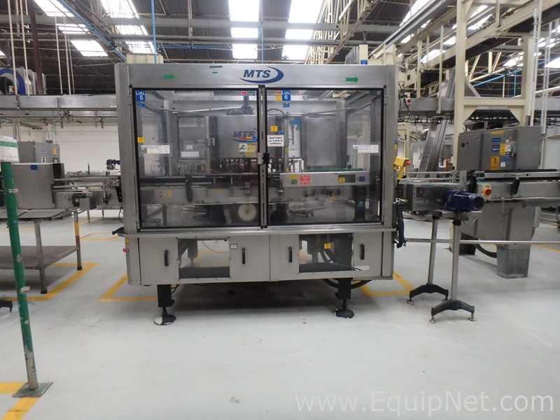 Multi Tech Systems International 073-720-18 Flaschenetikettierer mit Schmelzkleber