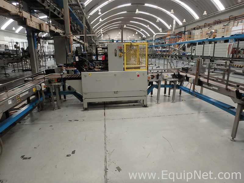 SWF Companies CS100FK Case Sealing Machine with Hot Melt Glue
