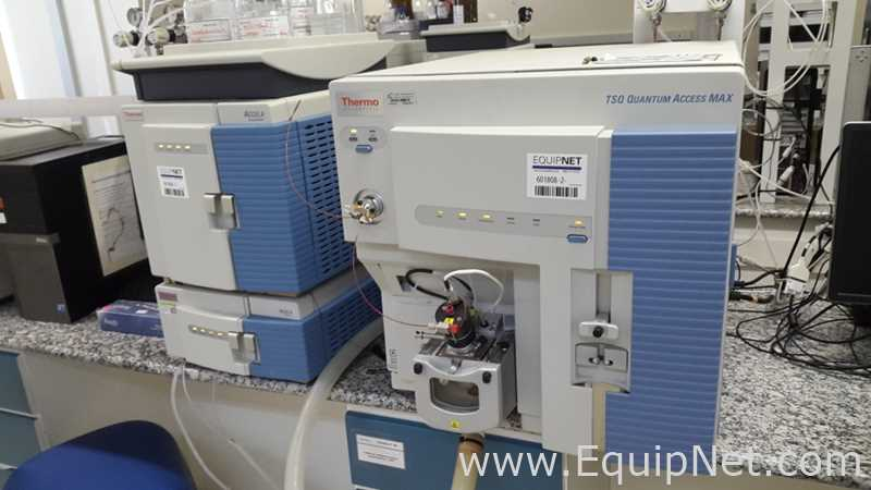 Thermo TSQ Quantum Ultra Mass Spectrometer with Thermo Accela HPLC System
