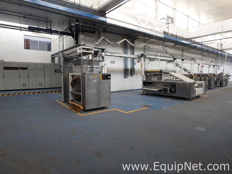 Processing and Packaging Equipment from a Mondelez Facility in Mexico