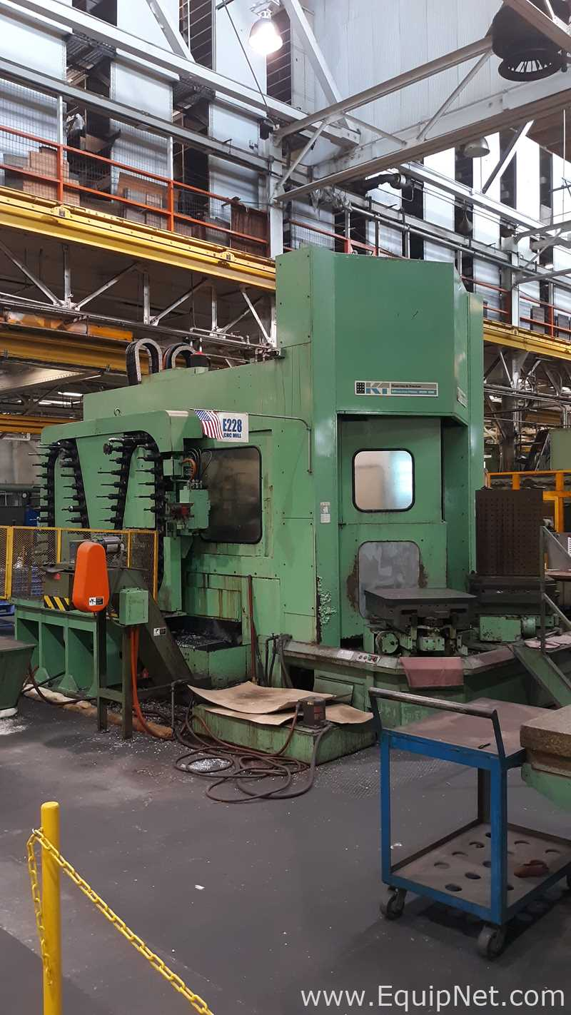 Kearney and Trecker MILWAUKEE-MATIC ORION 2300 Horizontal Machining Center