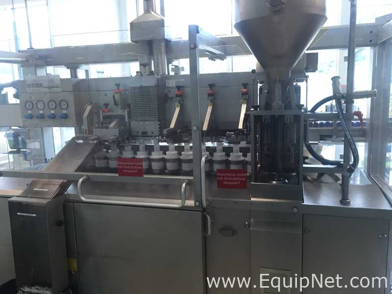 Complete IWK TFS80-2 Tube Filling Line
