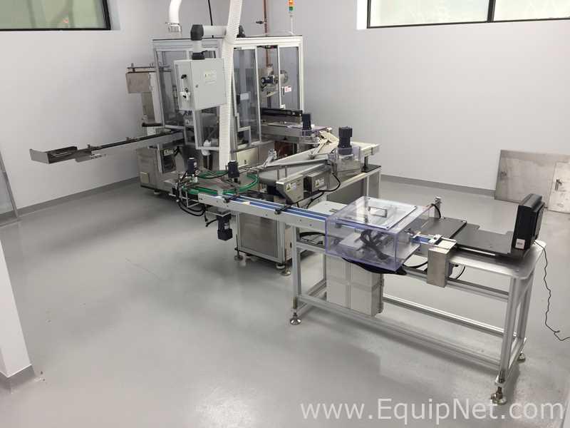 Woojung Tech Zpress-8D Servo Enchedor para Godets Cheios de Pó Pressionado - Cosméticos