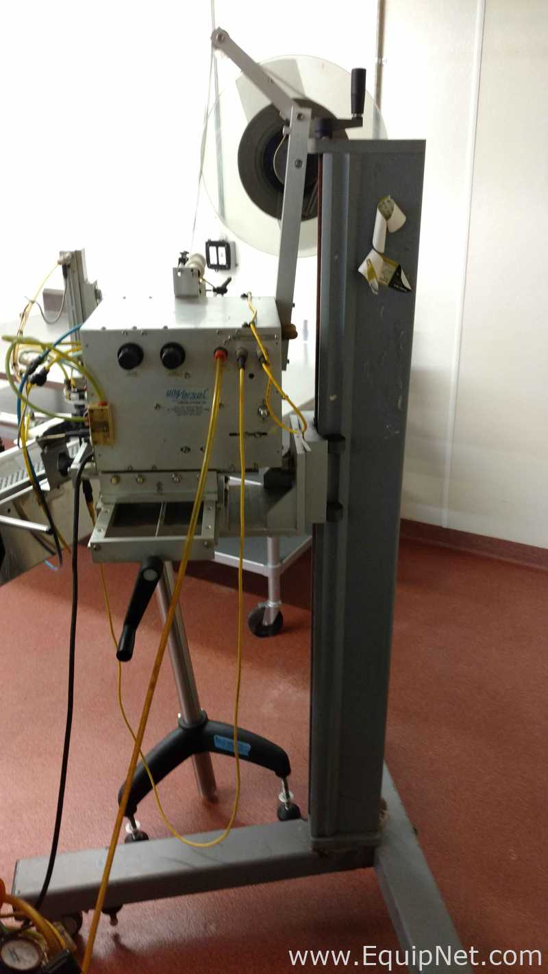 Universal Labeling Systems L60 Tamp Labeler on Stand