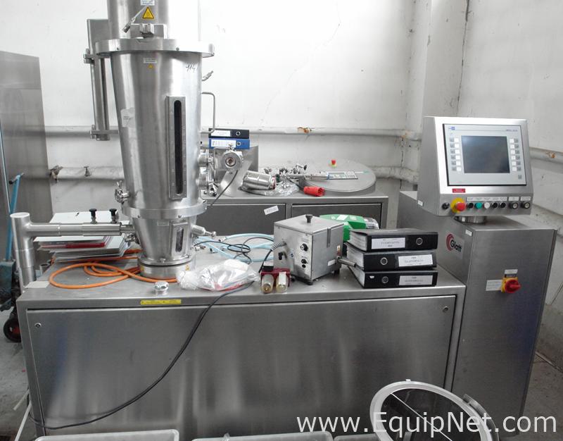 Secador de leito fluidizado Glatt GPCG-3