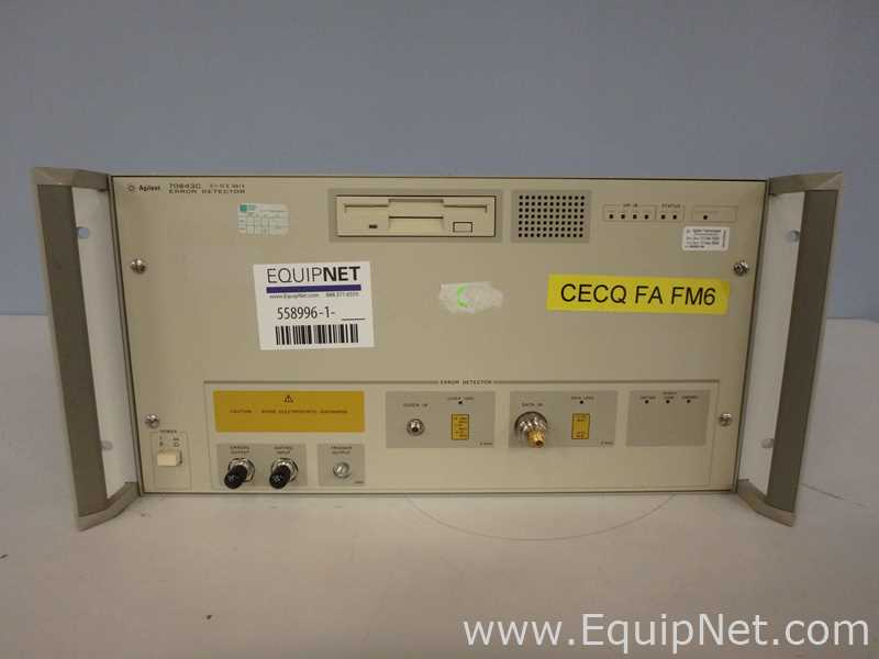 Agilent Technologies 70843C Error Detector Electronic Testing and Measurement Equipment