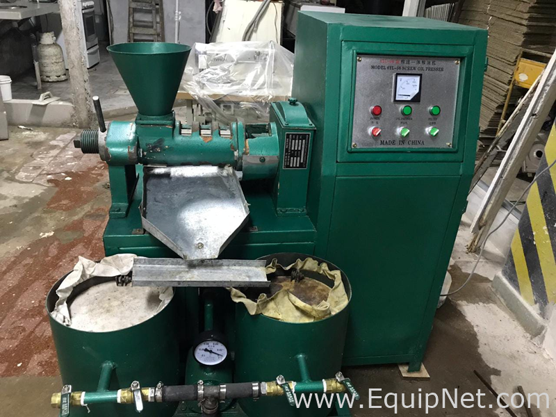 AAA 6YL-80 SCREW OIL PRESS MACHINE Press