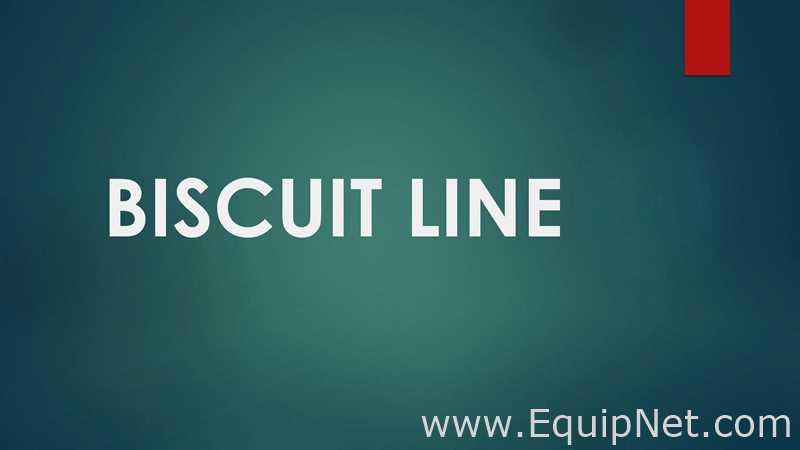 Basari Makina 2010 Full Biscuit Line