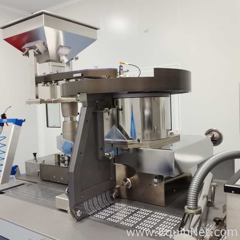 Heino Ilsemann GmbH BMP-250 Blister Packaging and Cartoning Line for tablets and capsules.