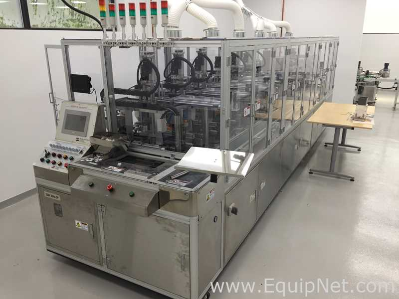 Unused Woojung Tech Hi-Mpress-3AL Powder Press for Cosmetics