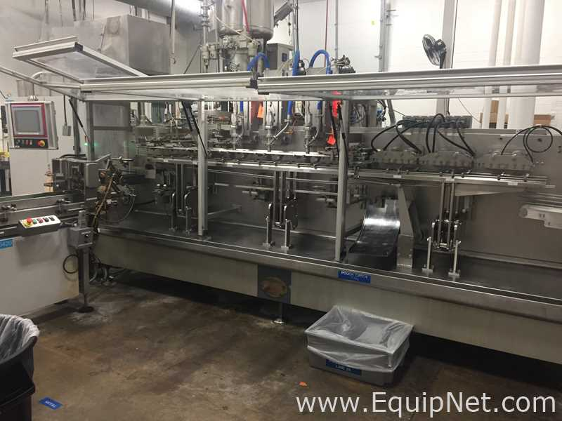 Mespack H-320-SC High Speed Horizontal Packaging Machine For Premade Doypack Pouch Formats