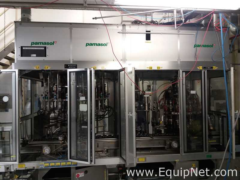 Pamasol Aerosol Filling Line for 150ml to 200ml Aluminium Containers
