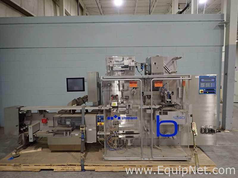 Uhlmann B1240 Blister Machine