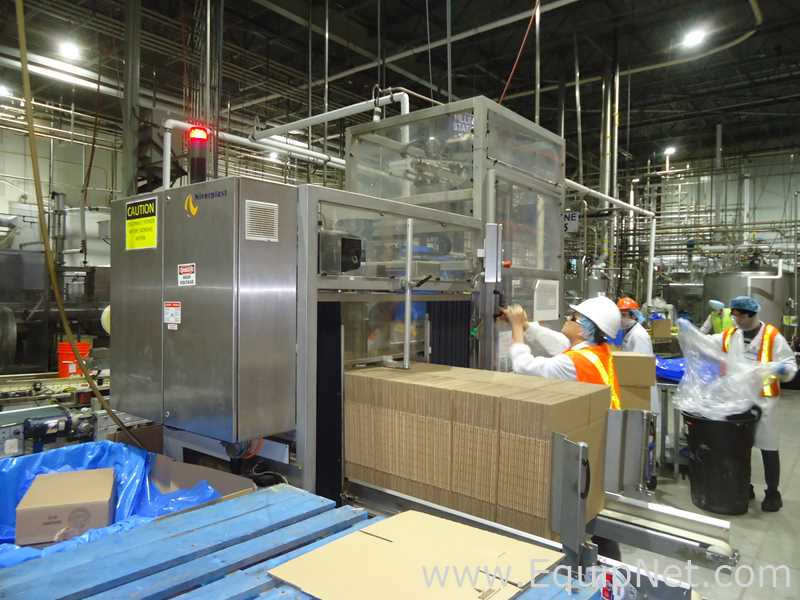 Niverplast Bag-In-Box Case Erectors and Bag Inserters Available in Canada