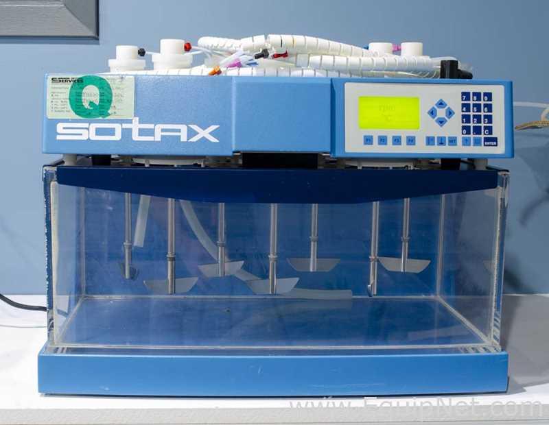 Sistema de disolución inteligente Sotax AT7