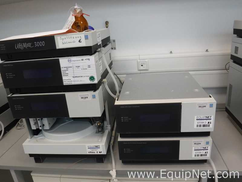 Sistema Dionex Ultimate 3000 UHPLC con VWD